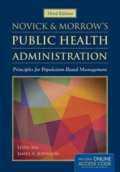 Novick And Morrow's Public Health Administration