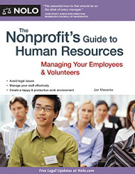 Nonprofit's Guide To Human Resources by Jan Masaoka Attorney Attorney