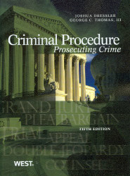 Criminal Procedure Prosecuting Crime