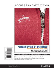 Fundamentals Of Statistics - Student Discount Looseleaf Edition