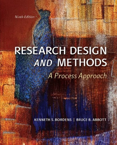 Research Design And Methods