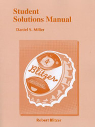 Student Solutions Manual for Introductory and Intermediate Algebra for College
