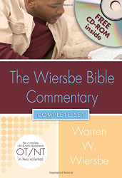 Wiersbe Bible Commentary 2 Vol Set Rom