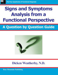 Signs And Symptoms Analysis From A Functional Perspective-