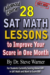 28 New SAT Math Lessons to Improve Your Score in One Month - Advanced Course