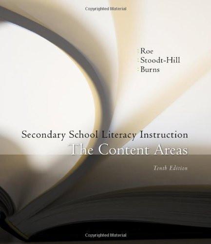 Secondary School Literacy Instruction