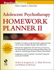 Adolescent Psychotherapy Homework Planner II