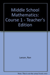 McDougal Littell Math Course 1: Teacher's Edition by MCDOUGAL LITTEL