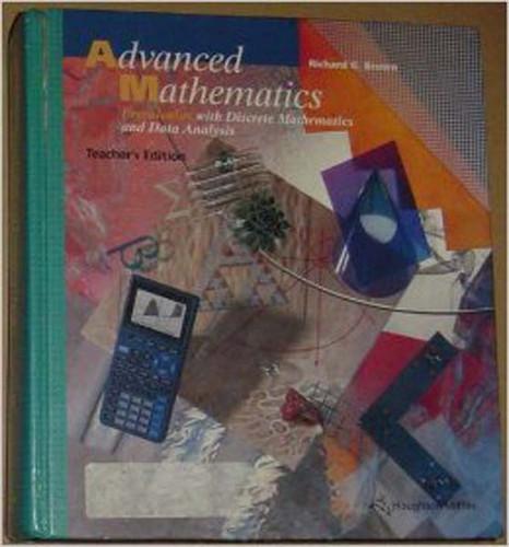 Advanced Mathematics - Teacher's Edition