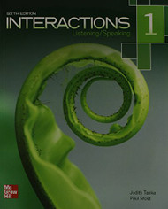 Interactions Listening/Speaking Level 1 Student Book