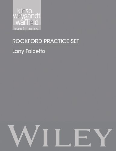 Rockford Practice Set To Accompany Intermediate Accounting
