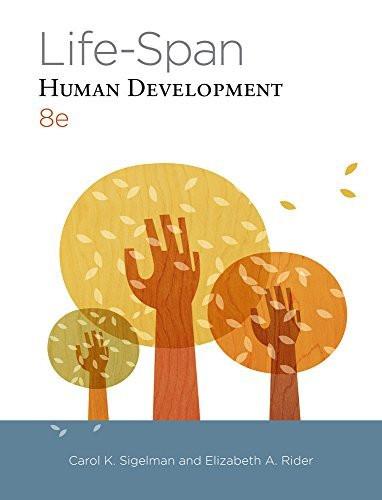 Life-Span Human Development