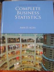 Complete Business Statistics