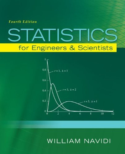 Statistics For Engineers And Scientists