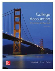 College Accounting A Contemporary Approach