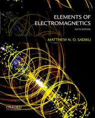Elements Of Electromagnetics   (Matthew Sadiku)