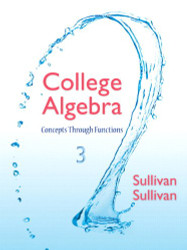 College Algebra Concepts Through Functions by Michael Sullivan I