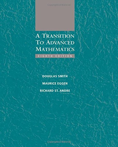 Transition To Advanced Mathematics
