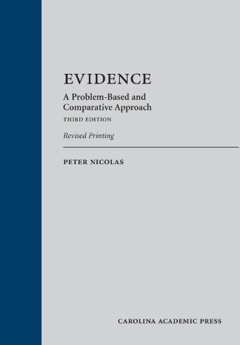Evidence A Problem-Based And Comparative Approach