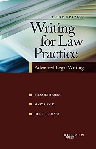 Writing For Law Practice