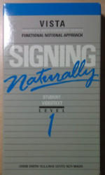 Signing Naturally VHS Tape