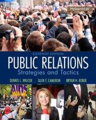 Public Relations - Strategies and Tactics
