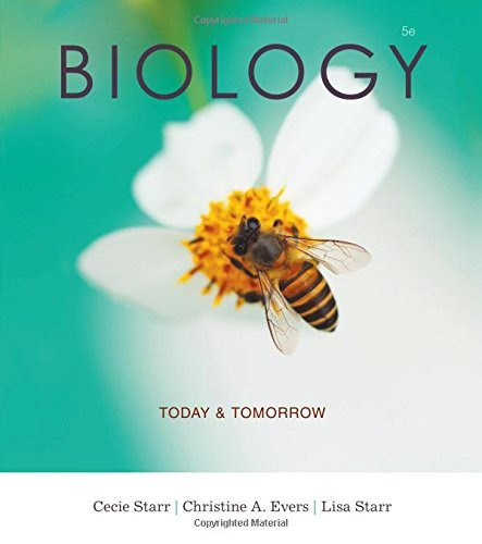 Biology Today And Tomorrow With Physiology