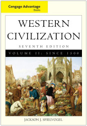 Western Civilization Volume 2 Since 1500