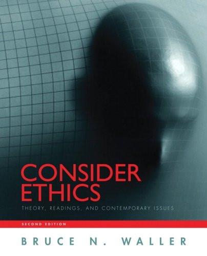 Consider Ethics