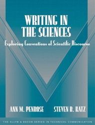 Writing In The Sciences