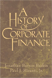 History Of Corporate Finance