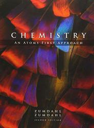 Chemistry An Atoms First Approach by Steven Zumdahl
