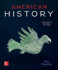 American History Volume 1