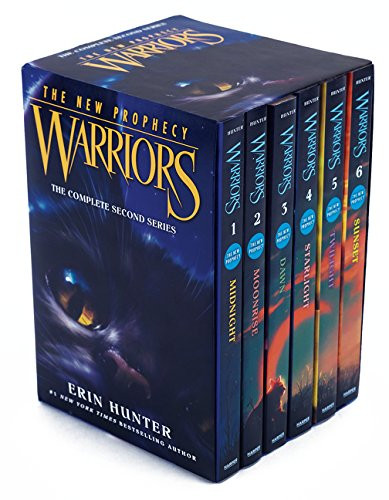 Warriors The New Prophecy Box Set Volumes 1 To 6 The Complete Second Series