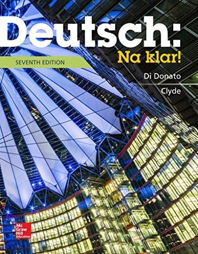 Deutsch Na Klar!