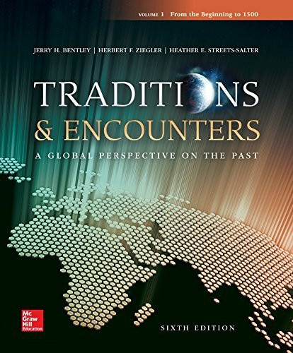 Traditions And Encounters Volume 1