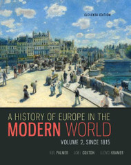History Of The Modern World Since 1815 Volume 2