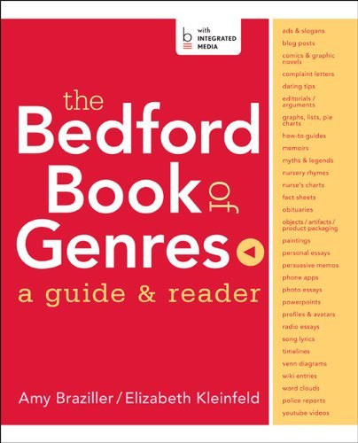 Bedford Book Of Genres