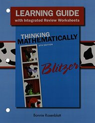 Learning Guide For Thinking Mathematically