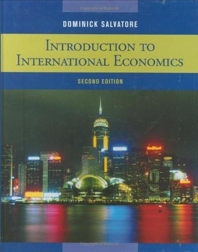 Introduction To International Economics