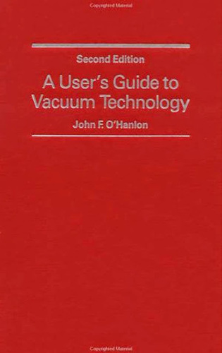 User's Guide To Vacuum Technology