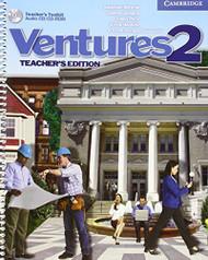 Ventures 2 Teacher'S Edition With Teacher'S Toolkit Audio Cd/Cd-Rom