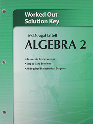 Mcdougal Larson Algebra 2 Worked-Out Solutions Key