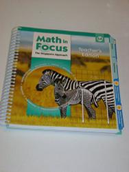 Math In Focus: Singapore Math: Teacher's Edition Book A Grade 5 2009
