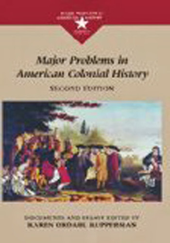 Major Problems In American Colonial History