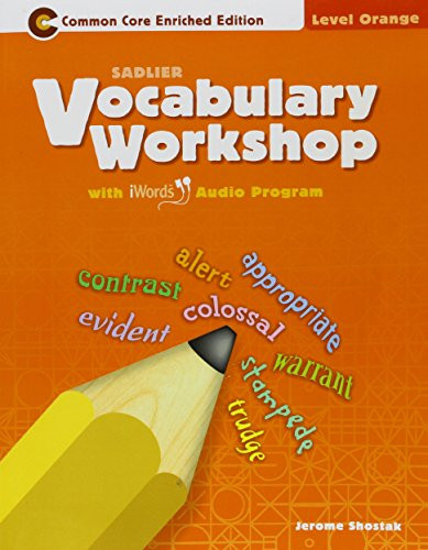 Vocabulary Workshop ??2011 Level Orange Grade 4