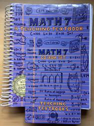 Teaching Textbooks Math 7 by Greg Sabouri