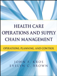 Health Care Operations And Supply Chain Management