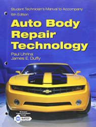 Students Technician's Manual For Auto Body Repair Technology