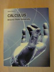Calculus Arizona State University
